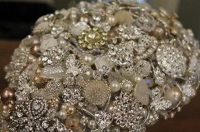 Crystal Bouquet Detail