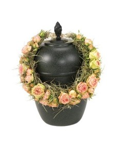Rose Urn Wreath.